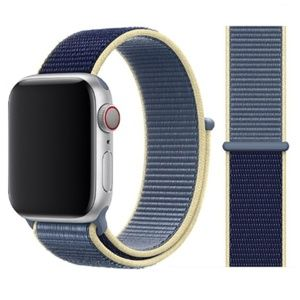 NEW [BAND] Alaskan Blue Strap Loop For Apple Watch